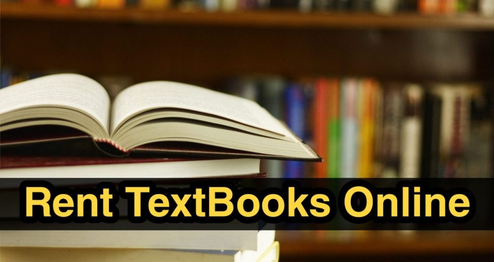 Top 3 websites to Rent Textbooks Online