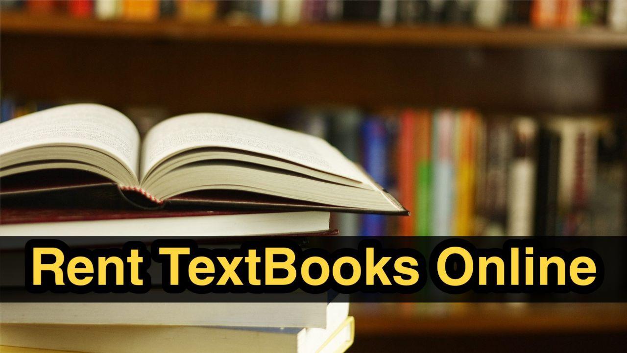 Top 3 websites to Rent Textbooks Online