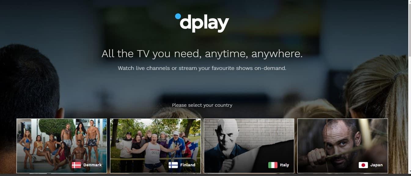 DPlay alternative to netflix