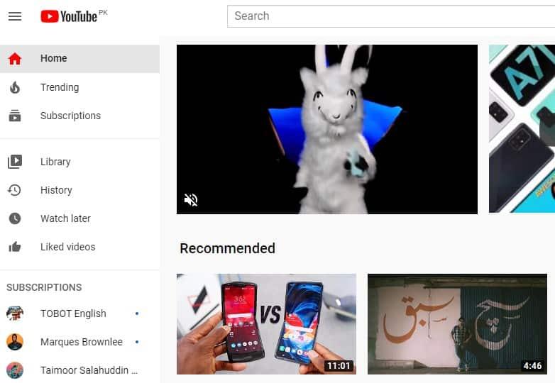 Youtube can be a best netflix alternative