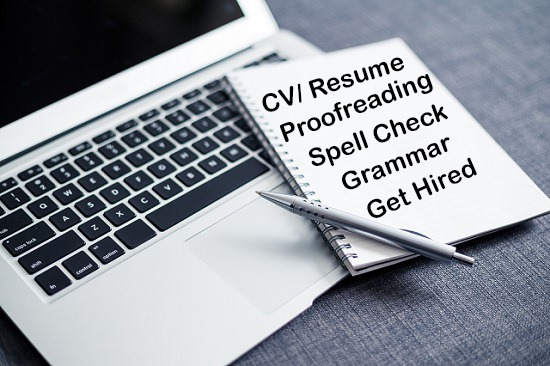 how to check if your resume is good and free of errors