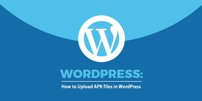 upload apk file or any other file extension on your wordpress without use of plugin
